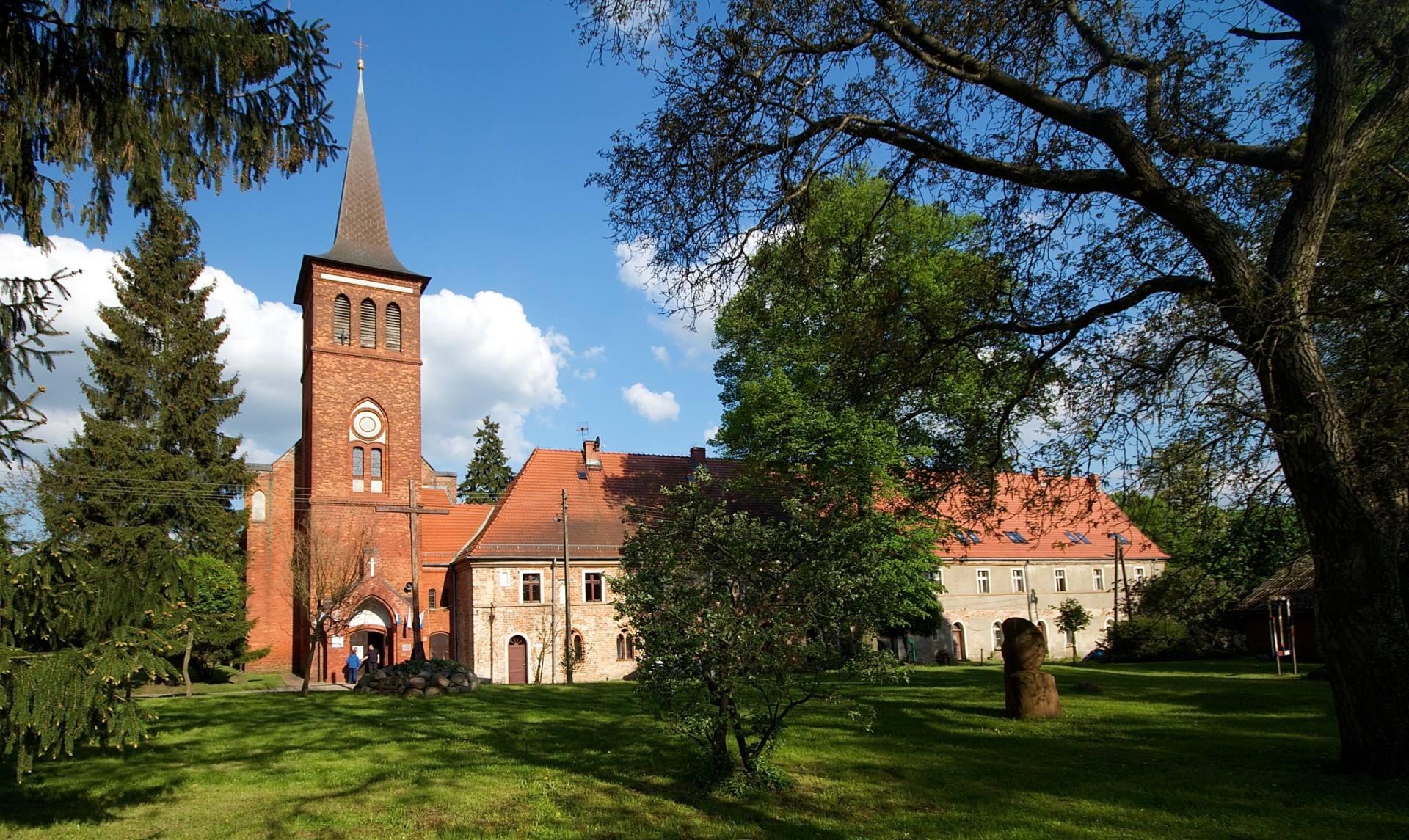 Bild eines Klosters - Zisterzienserinnenkloster Marienfließ (Marianowo)