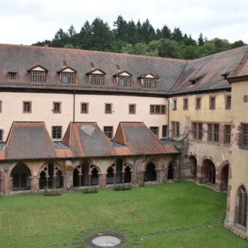 Bild eines Klosters - Zisterzienserkloster Bronnbach