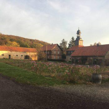Bild eines Klosters - Opactwo cysterek w Michaelstein