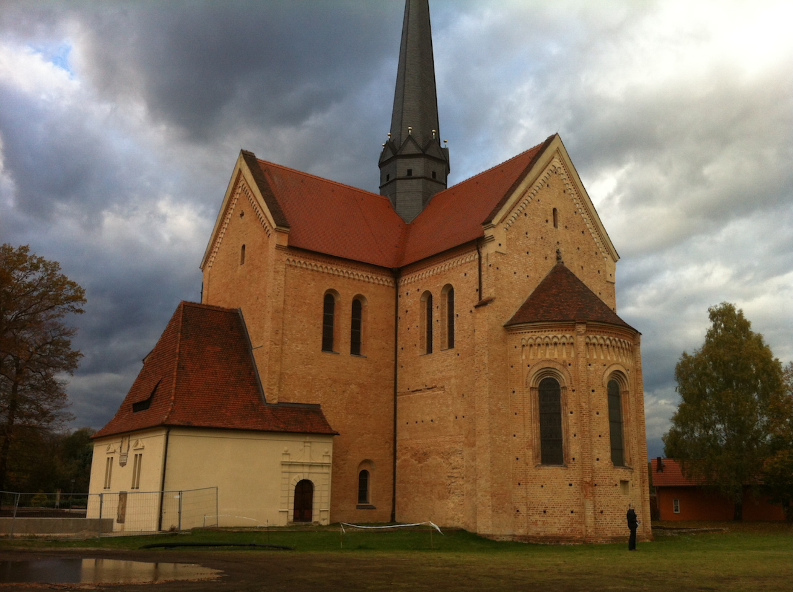 Bild eines Klosters - Dobrilugk Cistercian Abbey