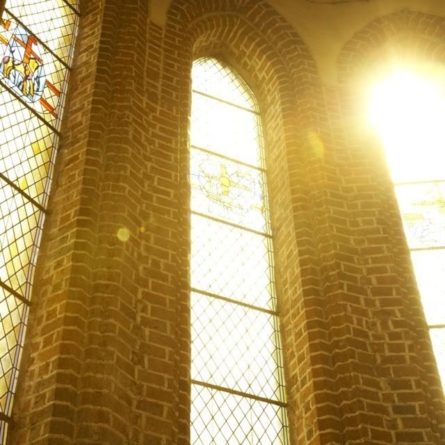 Bild eines Klosters - Klasztor cysterek w Heiligengrabe