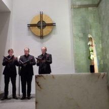 Ensemble Nobiles sing die Auftragskomposition für den Klosterherbst