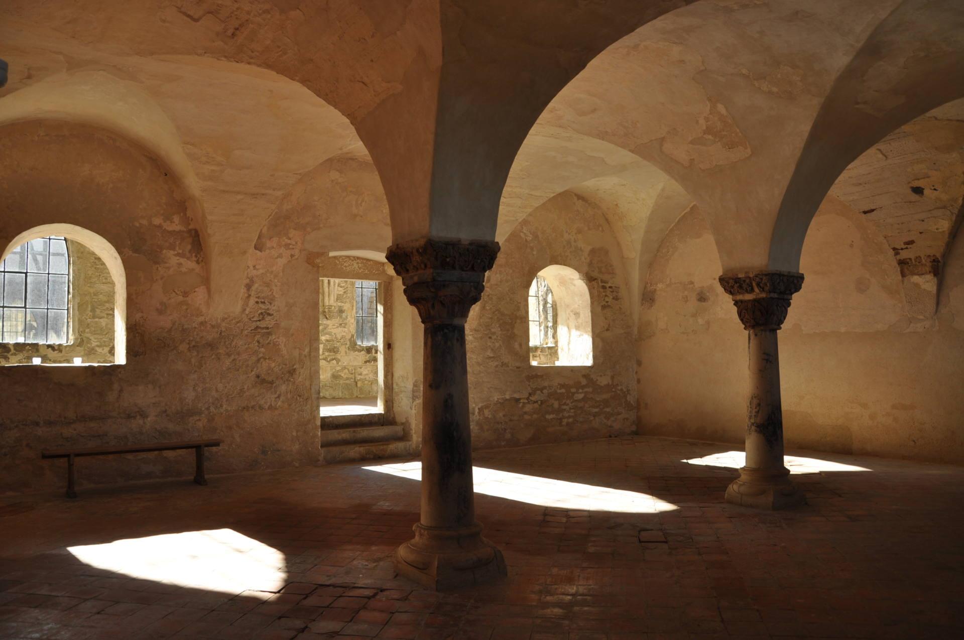 Bild eines Klosters - 5161Zisterzienserabtei Michaelstein